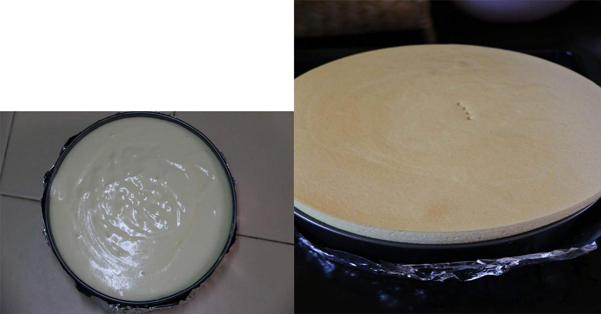 Kami sedikan khas tutorial bergambar resepi cheese cake gebu untuk akak