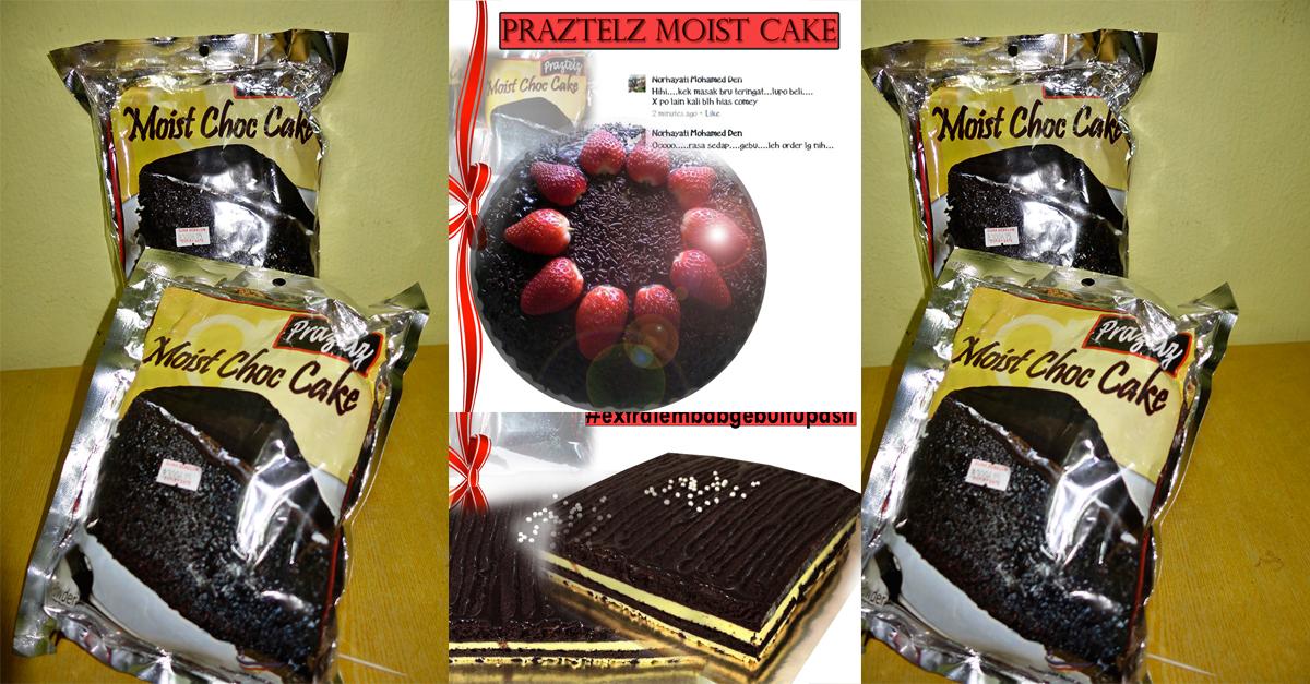 Praztel Moist Choc Cake