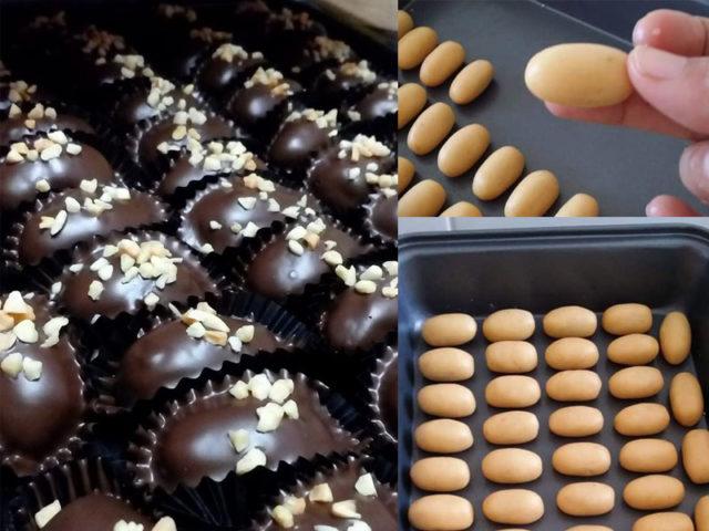Memang tak rugi anda cuba resepi biskut almond london ni.Dengan tips lengkap, hasilnya dapat almond london sama saiz, coklat tak melekat dan rangup.Best