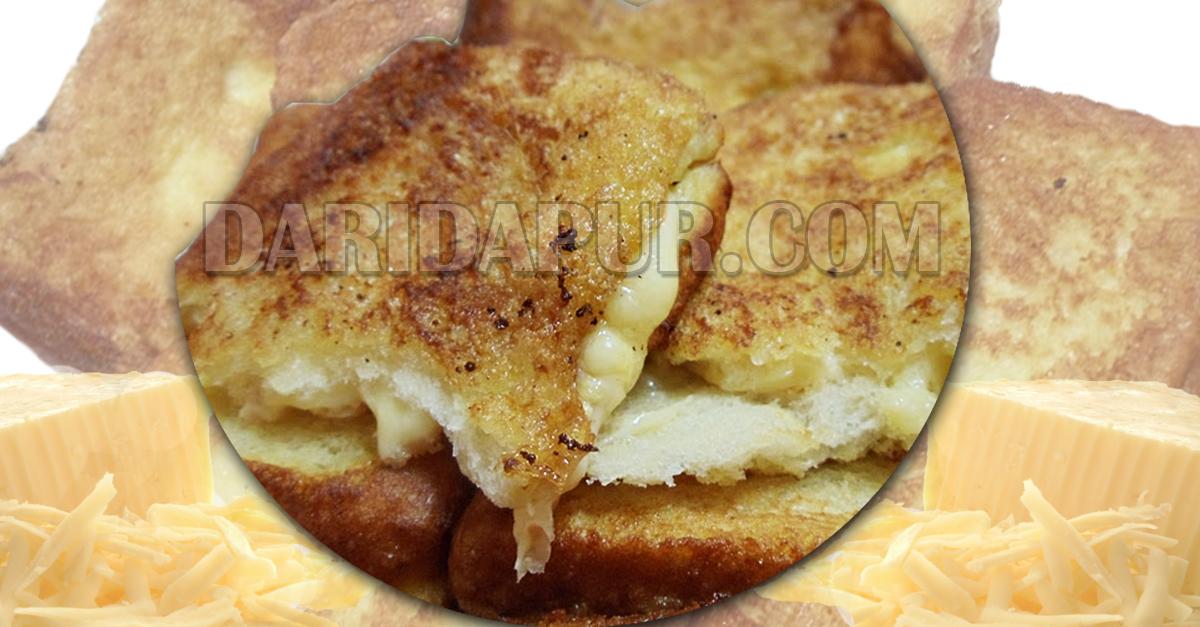 Kami sediakan khas untuk anda roti cheese goreng yang pastinya meleleh dan mudah disediakan. Anak-anak pasti suka dan cara penyediaan sangat mudah. Jom buat
