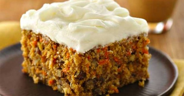 Carrot Walnut Cake Resepi
