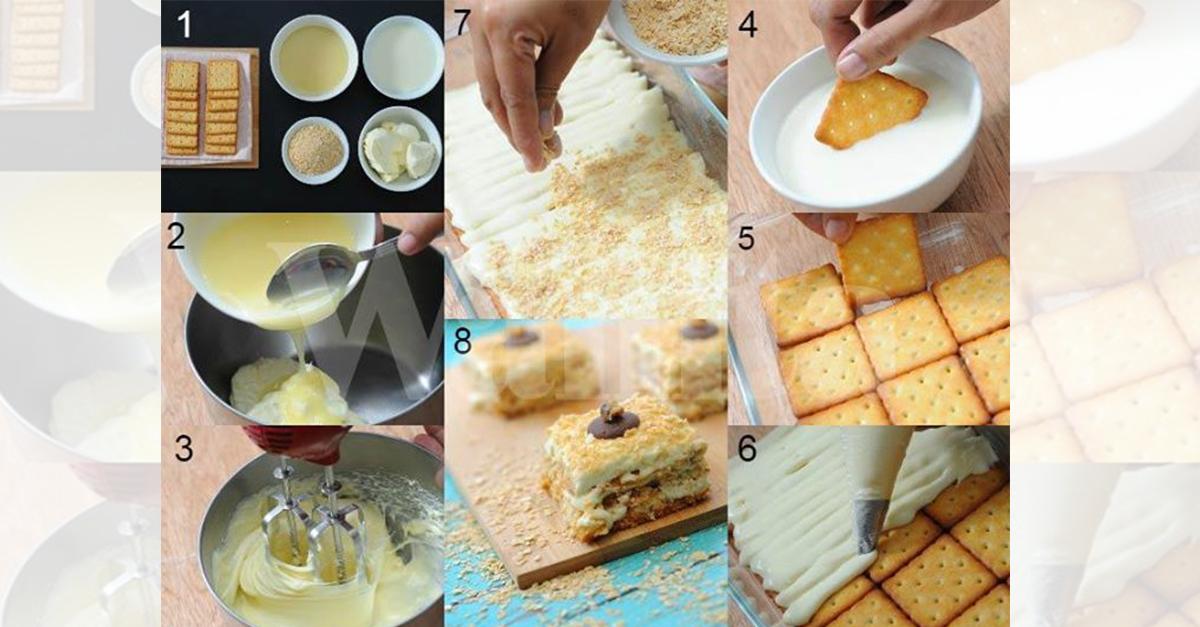Suka yang ringkas tapi sangat sedap ? Apa kata cuba Resepi Biskut Cheese Mudah Tak Perlu Bakar . Klik sahaja di gamabr untuk terus ke resepi penuh ya.