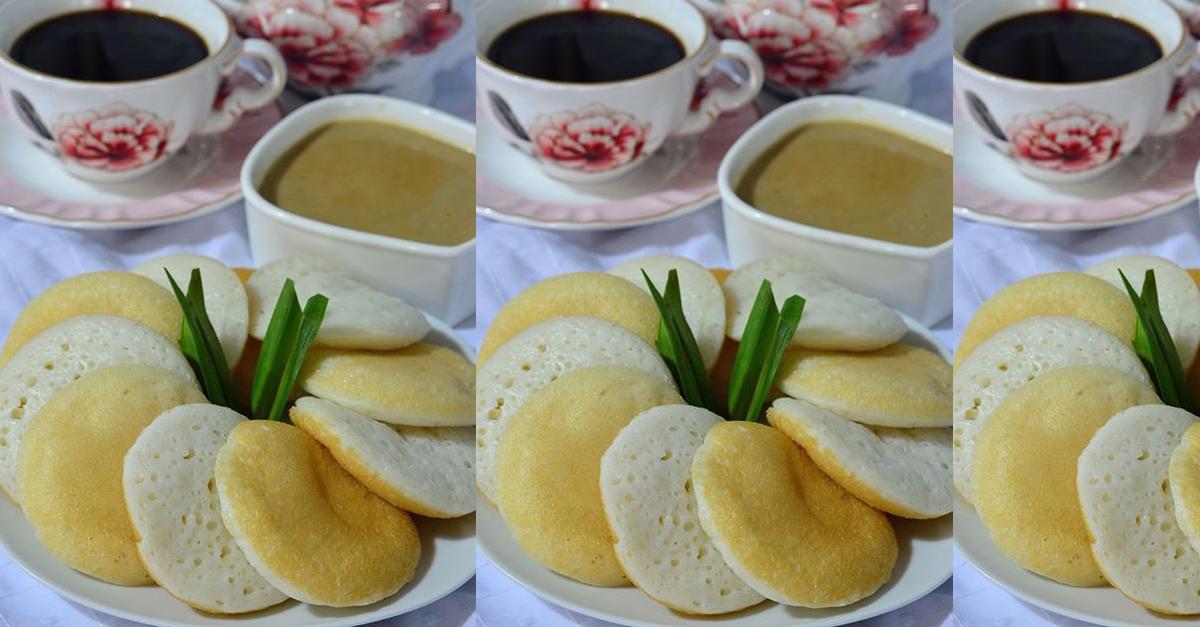 Resepi Kuih Serabai Lazat Dengan Kuah Durian Wangi . Memang sedap dimakan , kuih yang lembut ditambah pula dengan kuah durian , memang best. Klik sini ea .