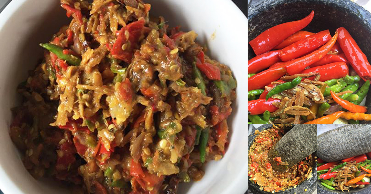 Resepi Sambal Ketuk Jawa Yang Menggiurkan yang mudah untuk disediakan. Paling sesuai untuk dimakan bersama nasi yang panas .