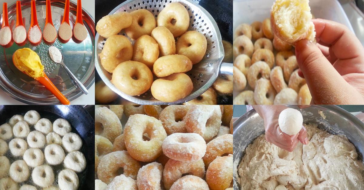 Resepi donut gebu ini memang sangat mudah dan memerlukan jangka masa yang singkat sahaja untuk siap . Jom kita buat resepi donut gebu ni.