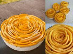 Elok sangat la ada resepi manggo cheesecake ni.Senang buat tak perlu bakar tak perlu nak kukus semua.Letak dalam peti lepas tu makan.Aduh sedapnya
