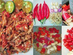 Sambal totok jawa , sambal belacan , hasilkan sambal , cara-cara buat sambal