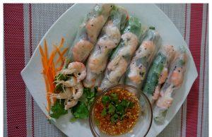 resepi popia vietnam , bahan popia vietnam , sos popia vietnam