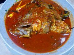 asam pedas melaka , asam pedas ikan jenahak , cara masak asam pedas
