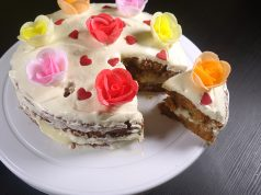 carrot cake , resepi membuat carrot cake , cream cheese