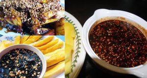 kuah rojak buah , sos buah pekat , kuah rojak buah mamak