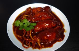 sambal sotong tumis masak merah