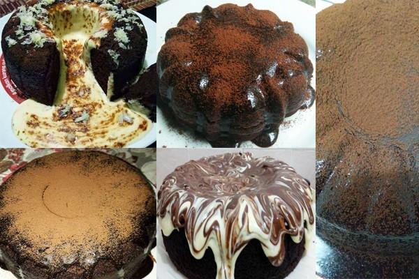 Lepas ni ada lava la dalam rumah. Jom buat resepi kek coklat lava ni. Step by step dengan sukatan cawan kami berikan special untuk anda kek coklat ni.