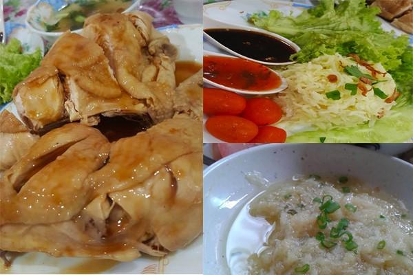 Anak-anak dan suami saya cukup gemarkan resepi nasi ayam .Tambah-tambah lagi kalau ayam hainan.Tulah ayam yang direbus bukan goreng atau panggang. Isinya yang lembab berjus dengan lembut memang memikat selera. Kalau buat , saya suka guna resepi nasi ayam hainan chinese style. Simple tapi cukup rasa nya. Tambah-tambah cicah ayam ke dalam kicap masin , sambil cili simple dan paling penting, sos halia bersama bawang putih. Saya ni tak pandai masak , tapi suka mencuba bila orang dah beri di Facebook. So, cuba rasa resepi nasi ayam hainan mudah yang ni tapi bagi saya cukup ummph. Jom tengok .Saya juga ada mencuba Resepi Nasi Lemak Ayam Goreng Berempah Step By Step di sini untuk anda cuba. Bahan-bahan untuk ayam dan sup : Ini untuk 1/2 - 1 ekor ayam ya. ½ ekor ayam Daun pandan simpul Daun sup atau daun celery Daun bawang 1 inci halia (diketuk) 1 biji bunga lawang 3 biji bunga cengkih 1 batang kayu manis (sederhana kecil) 1 biji buah pelaga 1 kiub pati ayam 1 sudu kecil gula 1 sudu besar jus limau nipis Cara-caranya : #1. Masuk semua bahan dan air hingga ayam tenggelam. Kemudian didihkan. Setelah mendidih, barulah perlahan-lahan masukkan ayam.Kecilkan api dan biarkan 15 -20 minit. #2. Dalam bekas lain , letak ketulan ais bersama air. Ini bertujuan untuk matikan proses memasak dan bagi mendapatkan isi ayam yang lembut dan lembap. Selepas 15 minit ayam masak di dalam periuk, angkat ayam dan cucuk bahagian yg tiada kulit. Jika tiada warna darah keluar maknanya ayam telah masak. Lalu, masukkan ayam ke dalam air berais tadi selama 1 minit dan toskan ayam kita. Bahan-bahan untuk nasi : 2 cawan beras (dibasuh dan ditoskan) 1 sudu besar lemak ayam dan kulit ayam 1 ulas bawang putih (dietuk) ½ inci halia (dihiris nipis) Daun pandan simpul 3 sudu besar minyak untuk menumis Cara-caranya : #1: Panaskan kuali dengan minyak masak. Masukkan kesemua bahan-bahan dan tumis hingga wangi dan garing. Kemudian, masukkan beras yang telah kita basuh dan toskan tadi. Goreng beras hingga berkilat. 
