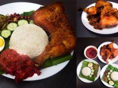 resepi nasi lemak ayam goreng berempah step by step