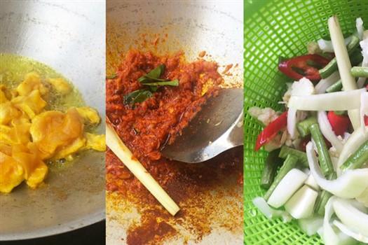 cara masak dan sayuran ayam paprik thai