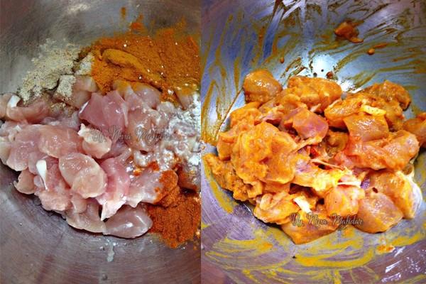 resepi ayam goreng kunyit mudah