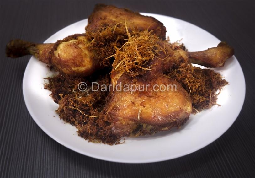 resepi nasi lemak ayam goreng berempah