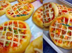 Bestnya resepi pizza roti homemade ni. Denga buat saiz mini, boleh la anak-anak bawak bekal pizza ke sekolah.Suka diorang dengan pizza best camni.