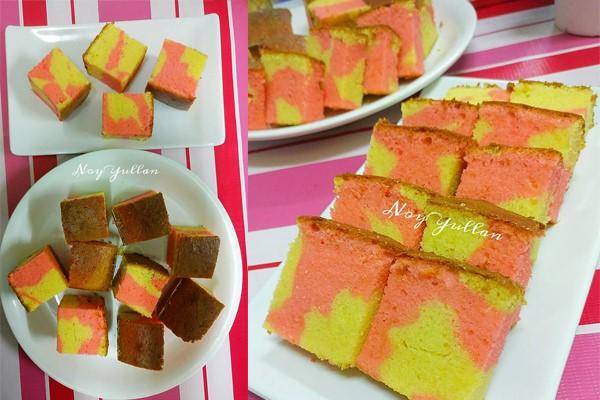Kke butter kali ni dengan perasa rose, sangat gebu walau dah lama sejuk selepas dibakar. Sangat menyelerakan kek butter ni untuk minum petang kan