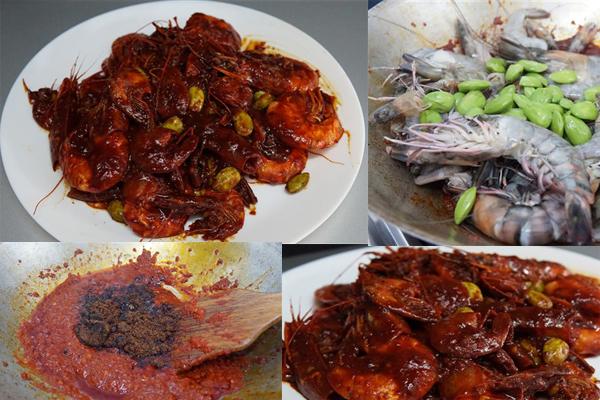 Kalau sebut udang, mesti saya terbayang keenakan sambal udang masak merah yang diletakkan petai.Aduh aromanya boleh membuatkan nasi bertambah. Jom cuba
