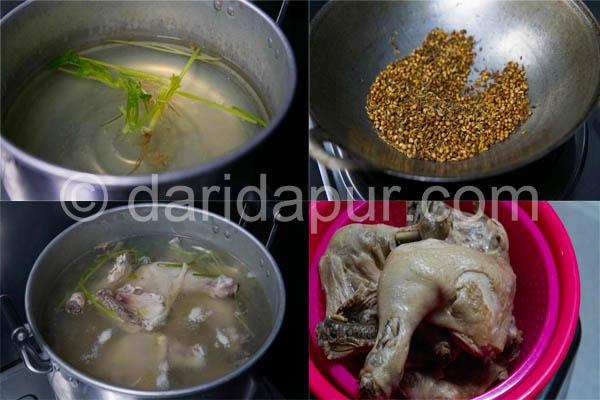 Kali ni kami mahu berikan anda resepi ayam penyet lengkap satu hidangan bermula dari nasi yang berperisa haruman ayam , ayam goreng penyetnya yang rangup di luar dan lembab di dalam