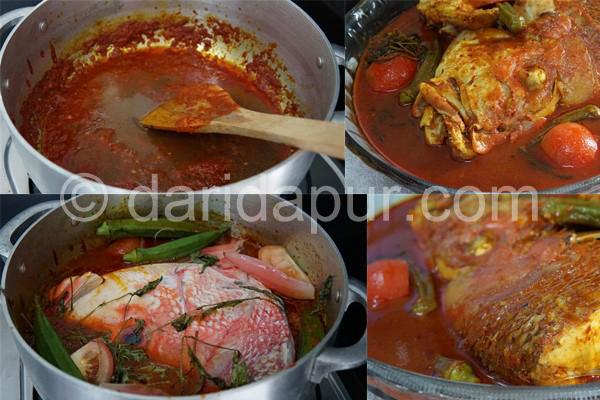 Kalau sebut resepi asam pedas ikan merah, mesti terbayang asam pedas Melaka atau Johor kan. Tapi nak pergi sana jauh.Tambah-tambah lagi jem di tempat kita ni