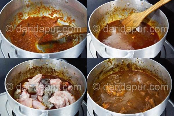 Bahan-bahan untuk resepi kerutuk ayam :Kuantiti untuk 1/2 ekor ayam. Boleh gandakan mengikut kesesuaian.