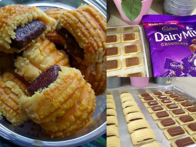 Ingin cipta kelainan, boleh la buat resepi biskut tart cadbury ni. Ada lebihan doh tart nenas, sambung balik dengan tart cadbury ni.Terbaik
