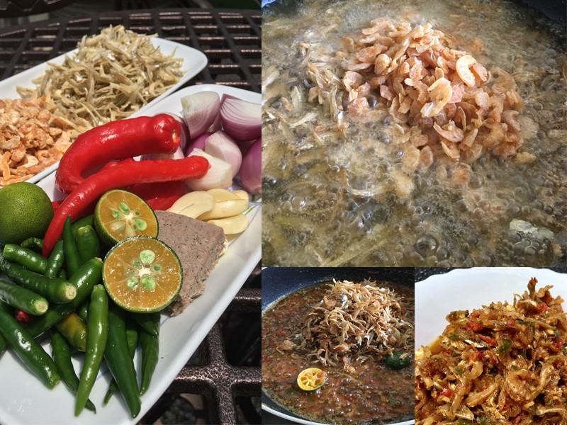 Kalau nak terasa makan bubur nasi yang sedap dengan sambal ikan bilis goreng rangup bersama udang kering, memang sesuai sangat. Jom kita cuba resepi bubur nasi yang aroma wangi dengan hirisan halia dan daun bawang ni.