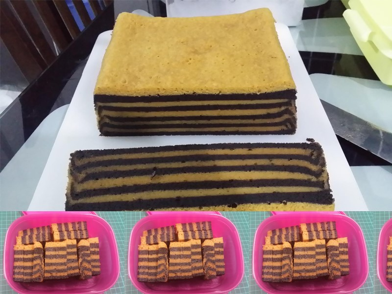 Resepi Kek Lapis Kukus Milo Horlick Yang Sangat Sedap