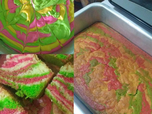 Tips nak dapatkan kek pelangi yang tekstur sedikit berderai ,kena pukul kembang bahan asas yang tiga ni.Resepi ni boleh guna untuk anda yang cari resepi kek pelangi kukus .Memang sangat senang cara buat kek tradisi ni tambahan pula dengan sukatan cawan.