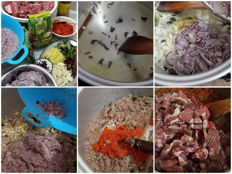 Sedapnya resepi daging masak hitam bukan sahaja buat makan dengan nasi putih, buah cicah dengan pulut, ketupat palas pun sedap kan.Untuk elakkan daging masak hitam keras , liat dan terlebih rasa, kami berikan tips yang boleh anda ikut ketika masak daging ini.