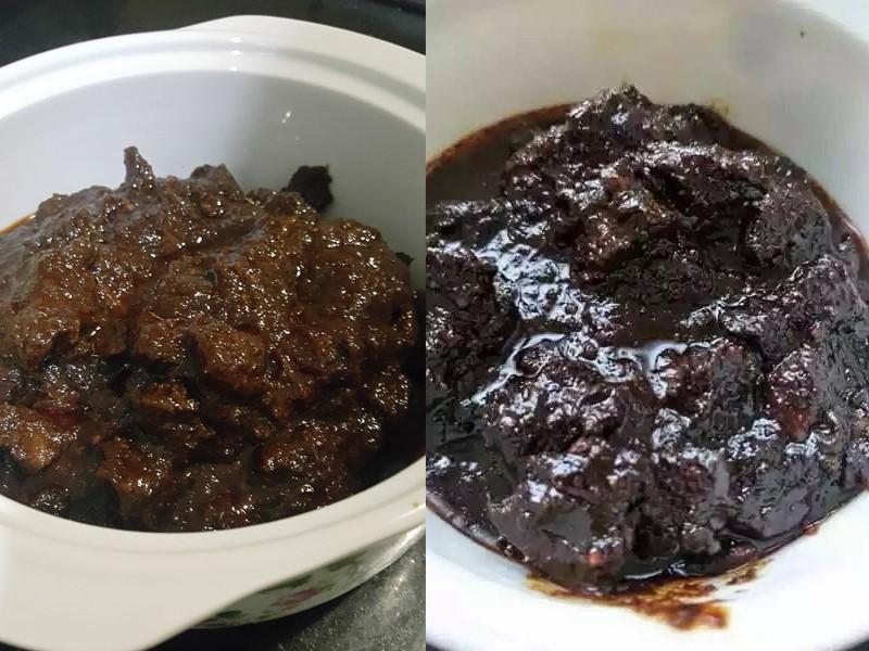 Sedapnya daging masak hitam bukan sahaja buat makan dengan nasi putih, buah cicah dengan pulut, ketupat palas pun sedap kan.Untuk elakkan daging masak hitam keras , liat dan terlebih rasa, kami berikan tips yang boleh anda ikut ketika masak daging ini.