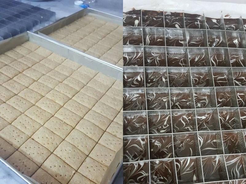 Memang sedap biskut shortbread bila guna bahan berkualiti untuk butter dan juga dark compund choclate ni.Kami berikan full resepi biskut rayashortbread beserta tips untuk elak lekat.Boleh tahan berbulan tanpa bau hapak.Best kan biskut shortbread marble ni.