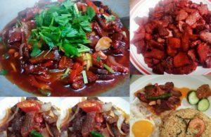 Sedapnya resepi daging masak merah ni makan dengan nasi goreng USA atau dengan nasi putih.Kami beri dua resepi daging masak merah untuk anda cuba