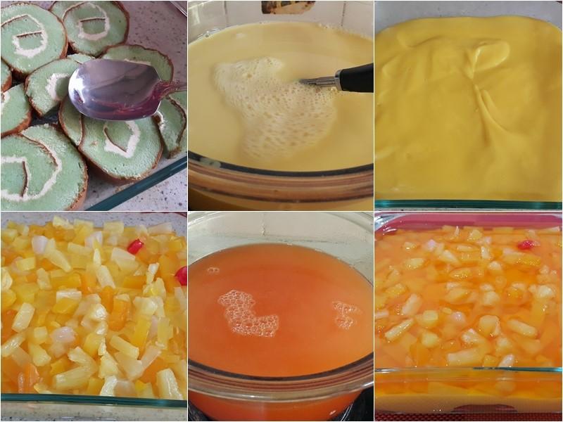Sedapnya resepi puding trifle ni.Tambah-tambah ada tips kek gulung mana yang sedap,cara elak kastard berketul.Memang kena buat puding trifle resepi ni.