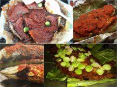 Tips untuk dapatkan resepi ikan bakar berempah yang sedap dan harum wangi,bakar ikan dalam balutan daun pisang