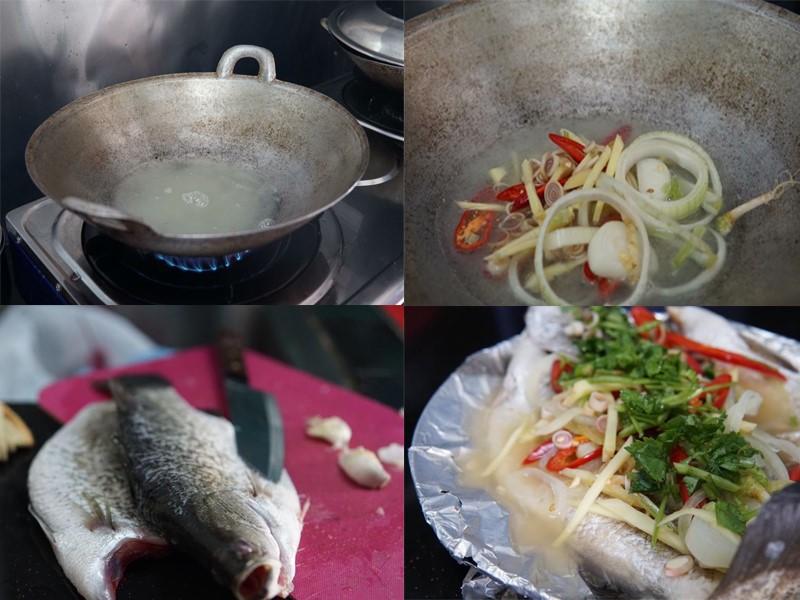 Nak tahu kesedapan resepi ikan siakap stim limau yang sama malah lebih sedap di kedai tomyam ? Kami beri resepi beserta tips untuk cuci ikan siakap.Sedap.