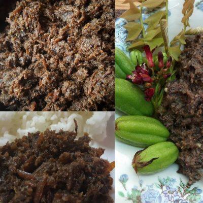 Memang sedap sangat resepi sambal hitam pahang ni.Dibuat dengan bahan original 4 bahan dan dimasak dengan cara orang lama-lama memang best.Sambal best