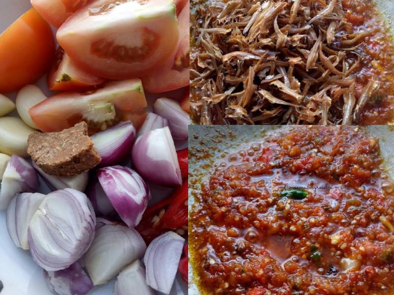 Sedapnya resepi sambal tomato ikan bilis ni.Siap dengan tips kami beri untuk pastikan ikan bilis sentiasa rangup.Makan pula dengan nasi putih panas.Best