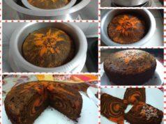 Takde oven tapi teringin nak makan kek bakar? Apakata cuba resepi kek marjerin marble khas untuk anda.Bakar dalam periuk guna api dapur gas je.Bestnya.