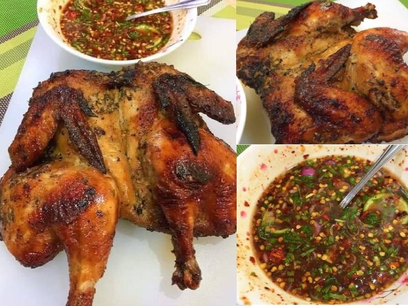 Bukan sahaja kami beri resepi ayam panggang serai tapi siap dengan air asam pencicah yang sangat sedap diganding bersama. Memang kombinasi rasa yang best.