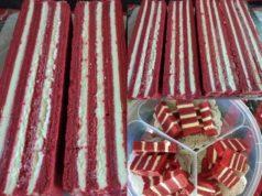 Dengan resepi lengkap dan tips penuh kami beri, memang anda boleh cuba resepi kek lapis red velvet ni tanpa ragu.Memang sedap sangat rasa kek dan lembut.