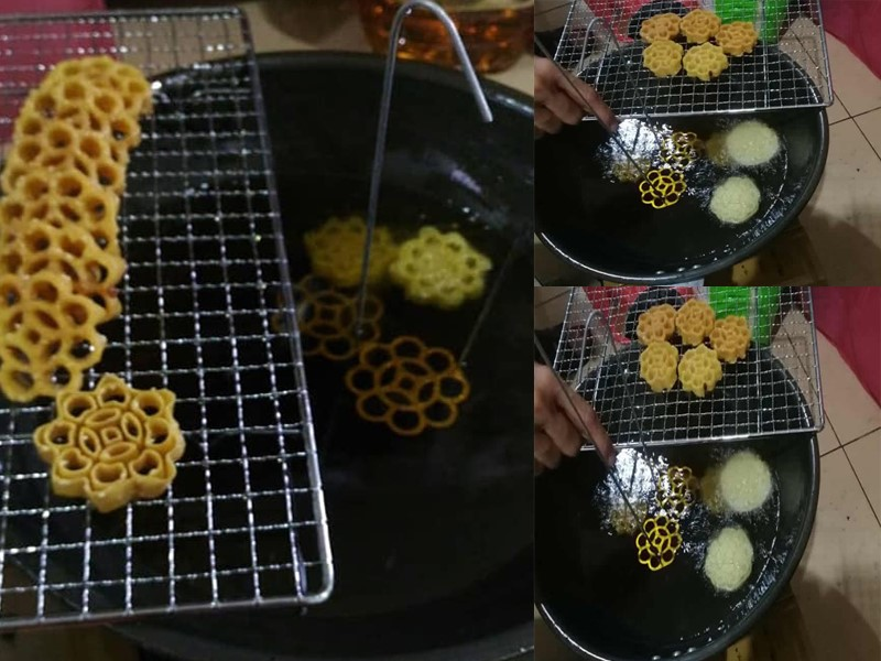 Sedapnya resepi kuih ros rangup ni.Banyak tips kami beri. Ada panggil kuih goyang, kuih bunga durian, kuih sarang tebuan tapi yang penting sedap dan best.