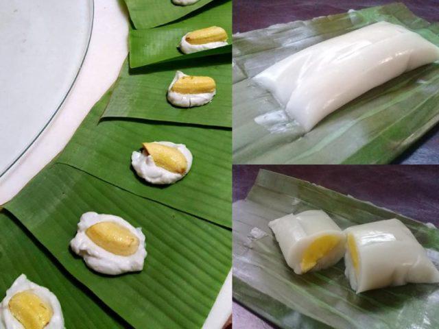 Memang best resepi kuih nagasari ni.Guna pula pisang raja atau pisang nangka, kukus ,memang lemak elok. Nak sedap guna santan semulajadi bukan santan kotak.