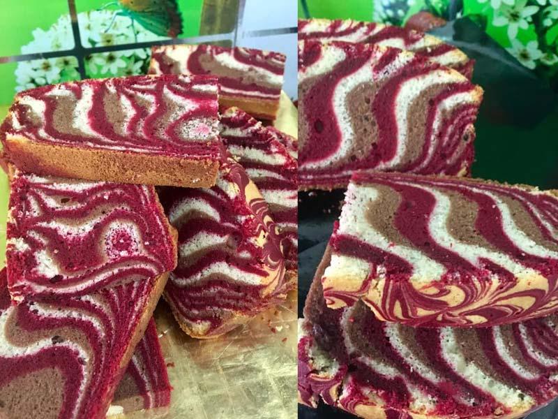 Wah sukanya resepi kek minyak red velvet gebu ni.Lembut sangat dan sesuai untuk dijadikan hidangan minum petang. Terasa red velvetnya dan paste koko .Best
