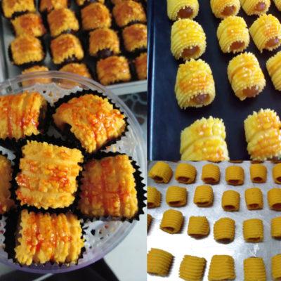 Kalau nak rasa resepi tart nenas gulung yang premium, kami cadangkan anda cuba resepibiskut raya ni .Memang berbaloi kesedapannya. Ikut je tips kami beri.