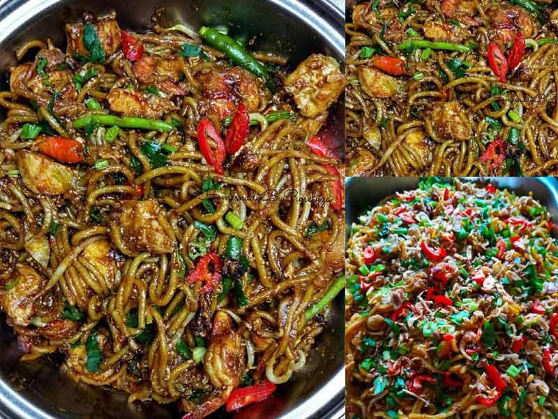 gambar mie goreng merah gambar hitam hd Resepi Ayam Azie Kitchen Enak dan Mudah