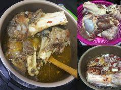 Kami berikan resepi singgang daging Kelantan untuk anda cuba.Nak guna daging sahaja atau nak lagi sedap, guna tulang gearbox untuk bagi air tulang turun.Terbaik